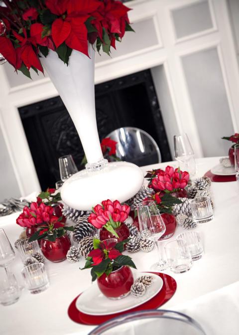 Vackra dukningar inför advent, jul och nyår