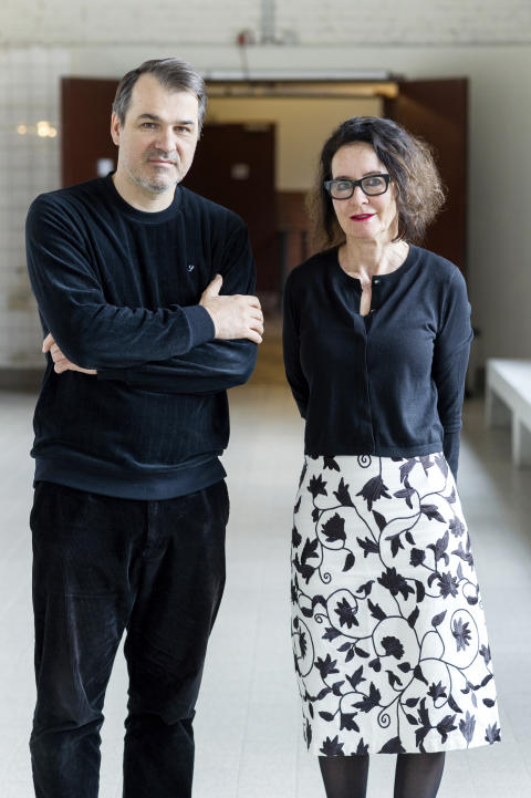 Kornél Mundruczó and Stefanie Carp