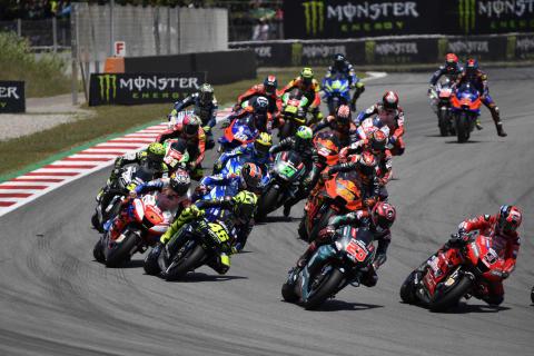 ロードレース世界選手権 MotoGP(モトGP) Rd.07 6月16日 カタルニア