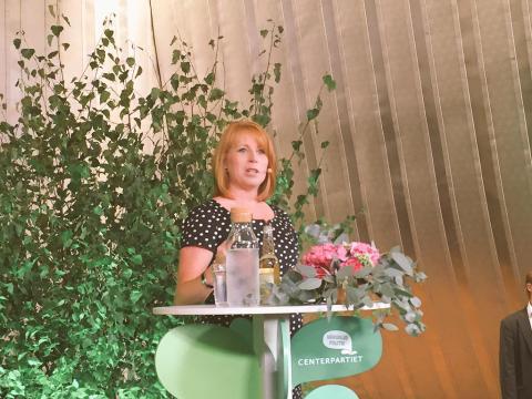 Utbildning i fokus i Annie Lööfs sommartal