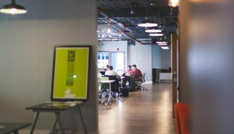 Collaboration and office flow - the perks of ABW!