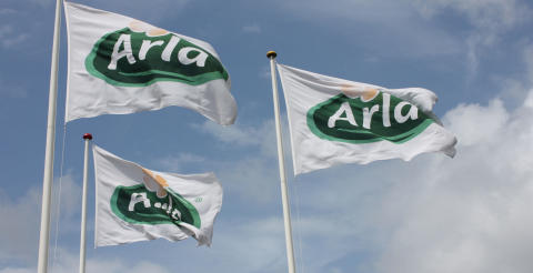 Arla Foods flags