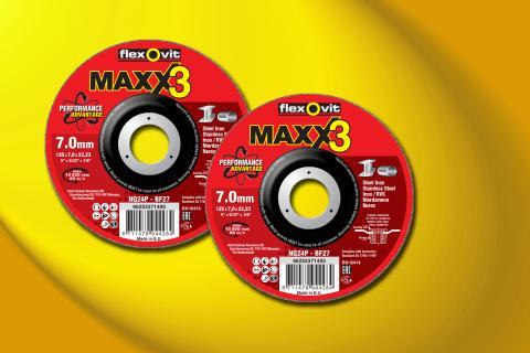 Flexovit MaXX 3 skrubskiver - Produkt 1