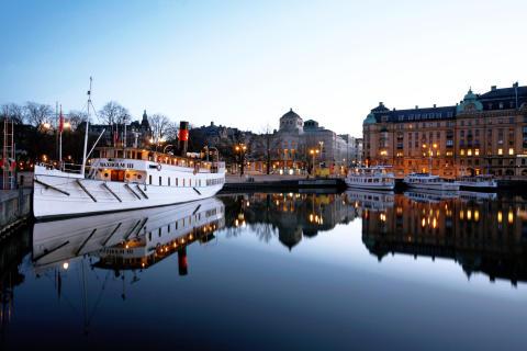 Pressbild - Strömma Kanalbolaget - M/S Waxholm III i Nybroviken