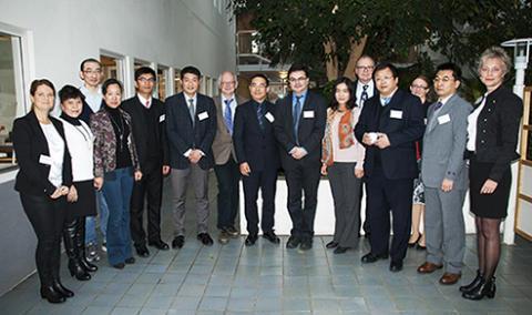 Kinas miljödepartement besöker Swerea IVF