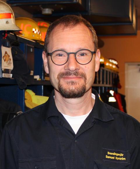 Samuel Nyström ny räddningschef i Jönköpings kommun