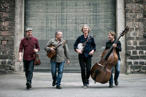 Stadsträdgården fylls med irländsk och brittisk folkmusik