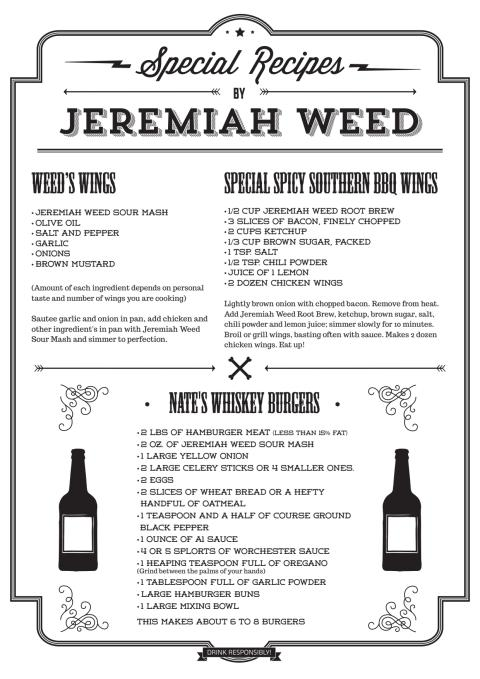 Recept Jeremiah Weed
