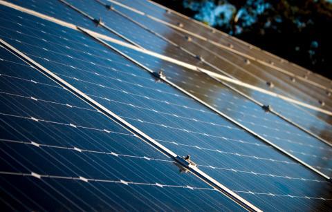 Huset där sopnedkastet får nytt liv med solenergi