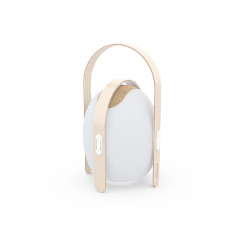 Trådlös högtalare och lampa, mini - frilagd