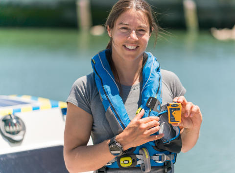 Ocean Signal: Ocean Signal Backs Lia Ditton in Bid to Become First Woman to Row Solo Across North Pacific