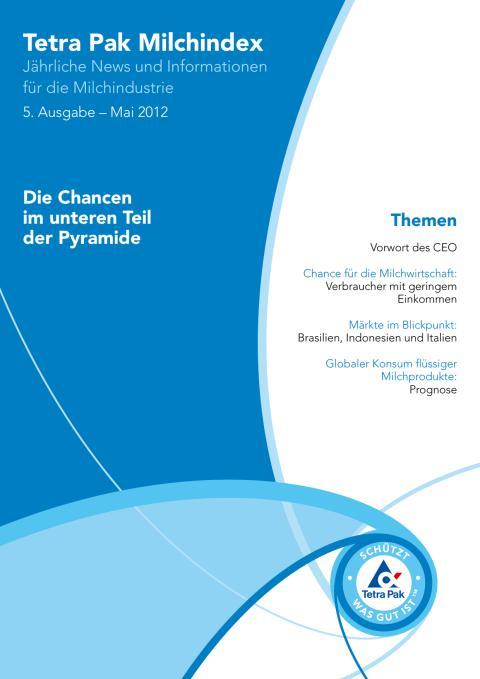 Milch-Index 2012: Chance im unteren Teil der Pyramide