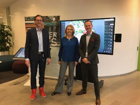 Ericsson takes on Flowscape's solution