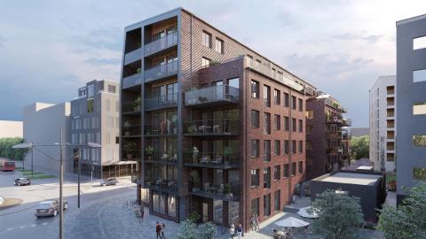 Byggstart på nyproduktionsprojekt i Västra Hamnen!