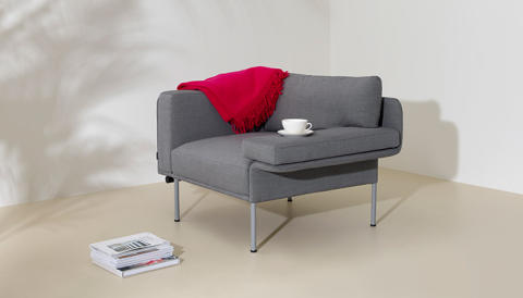 New sofa system Varilounge designed by Christophe Pillet