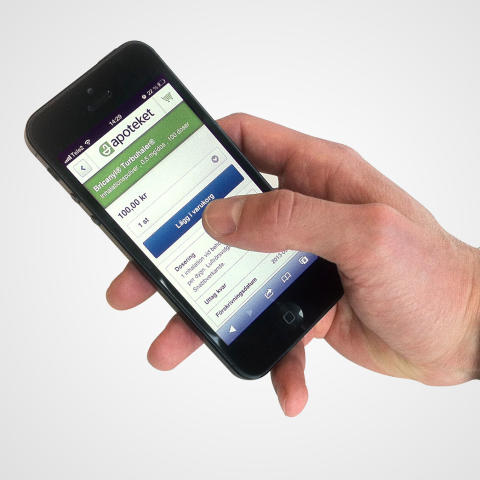 Apoteket först i Sverige: Receptbelagda mediciner nu tillgängliga att köpa via mobilen