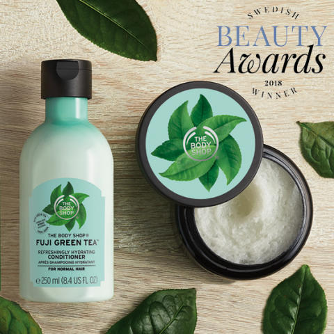 Vinnare i Swedish Beauty Awards 2018 - The Body Shop kammar hem priset för årets hårkit!