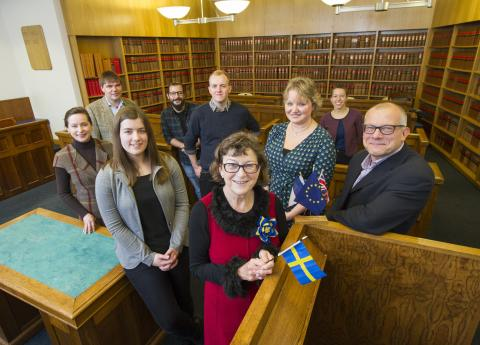 Honorary Consuls visit Northumbria University