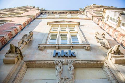 hkk Verwaltungsgebäude, Front