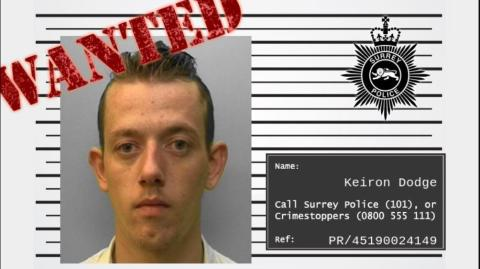 Re-appeal to find wanted man following Horley burglary and assault on police officers