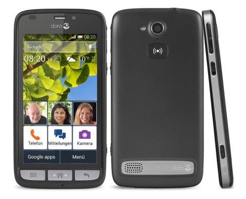 Doro Liberto® 820: Das Smartphone mit dem Sie sich verstehen!