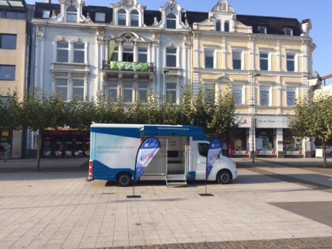 Beratungsmobil der Unabhängigen Patientenberatung kommt am 18. Juli nach Saarlouis.