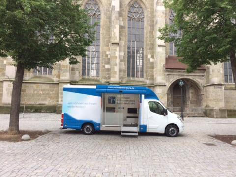 Beratungsmobil der Unabhängigen Patientenberatung kommt am 7. Februar nach Nördlingen.