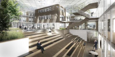 Tredje Danske Bank på tegnebrættet hos Arkitema