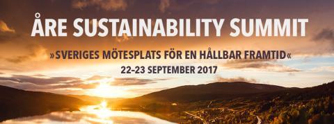 Entreprenörer med hållbarhetsfokus samlas i Åre