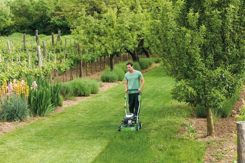 Bioklipp - återför fukt och näring till gräsmattan
