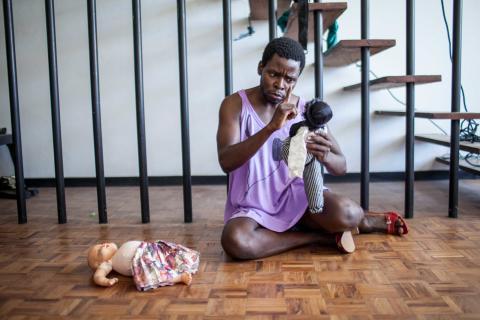 Duda with Associação Moçambicana de Teatro para Infância e Jovens (Moçambique)