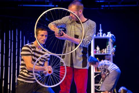 Cykla bak å fram - barnkonsert, 23 november 13.00