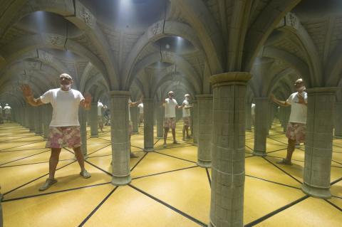 Spiegellabyrinth Curious Corner
