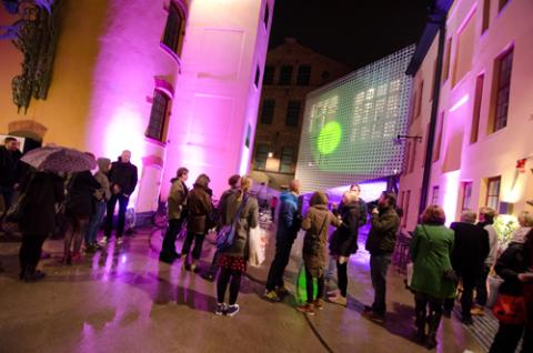 Nighttime Echoes – en interaktiv it-installation i Norrköpings Kulturnatt