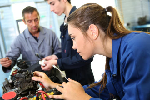 Scotland's industries support students and tackle skills shortage
