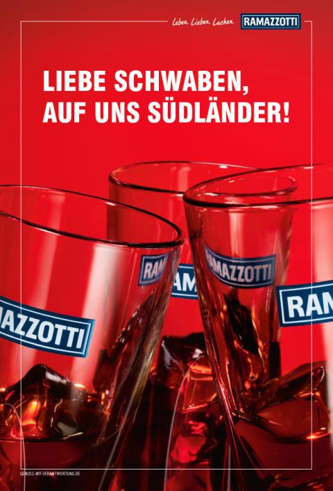 Neue Kampagne Ramazzotti: Motiv Stuttgart