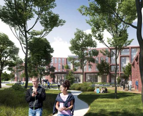 Så kommer Lunds nya gymnasieskola att se ut!