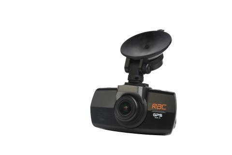 RAC 05 dash cam - front view on white background