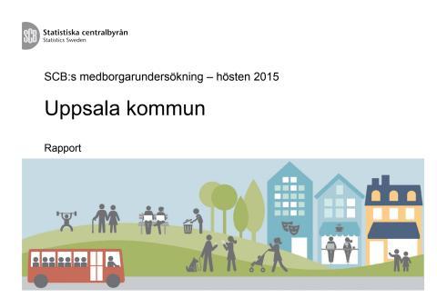 SCB Medborgarundersökning Uppsala 2015
