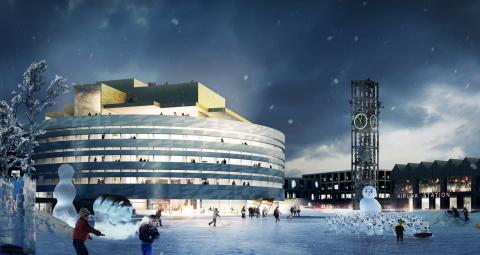 Från industrimark till det nya Kiruna
