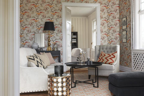 GRACEFUL LIVING - A modern take on classic from Boråstapeter