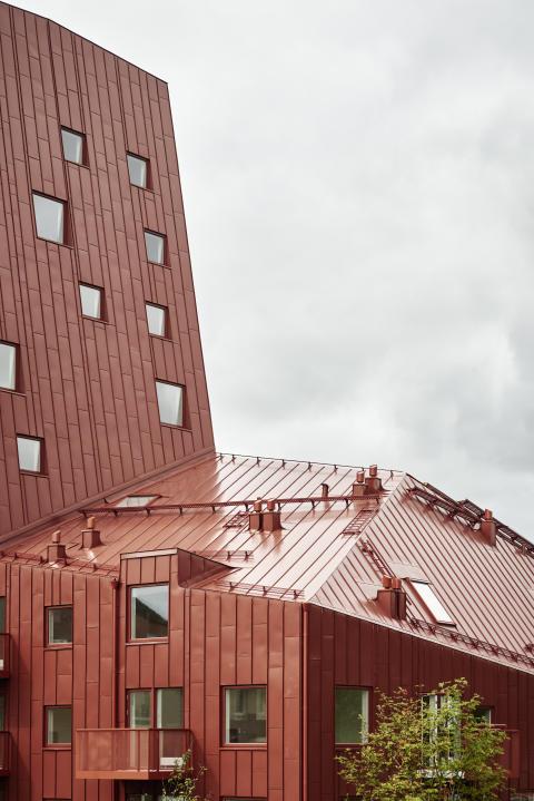 Brf Putsegården i Göteborg.