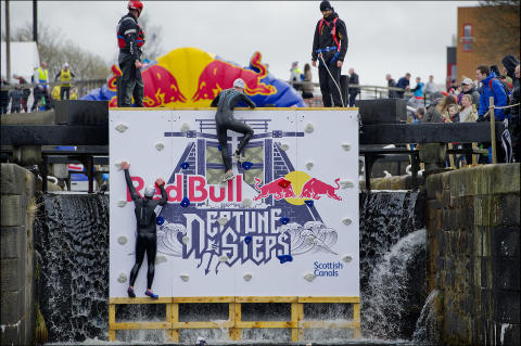 Scots urged to share #CanalMagic at Red Bull Neptune Steps ahead of 2016 World Canals Conference