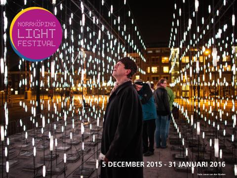 Välkommen till pressvisning av Norrköping Light Festival, fredag 4 december kl 15.30