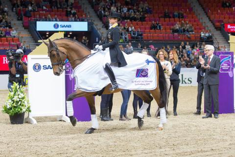 Dressyrhästarna har gjort entré på Scandinavium och Gothenburg Horse Show
