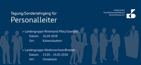 Newsletter KW 11: Tagung/Sonderlehrgang für Personalleiter