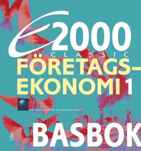 E2000 Classic Företagsekonomi 1-2