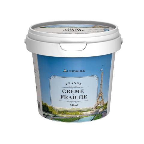 Lindahls lanserar Fransk crème fraiche