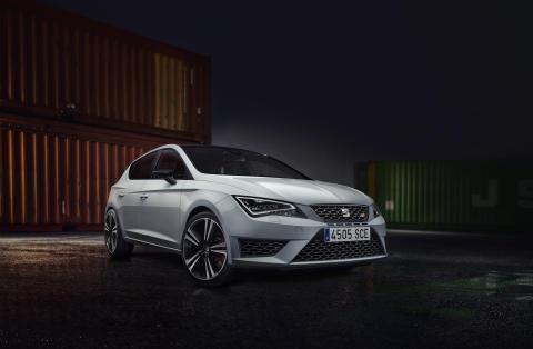 Fascinerende dynamik, et kraftfuldt design – den nye SEAT Leon CUPRA