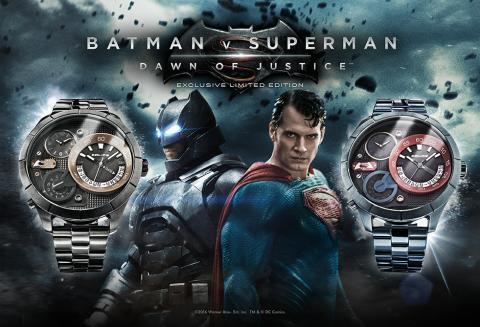 POLICE lanserer Batman vs Superman klokker - et limited edition samlerobjekt!